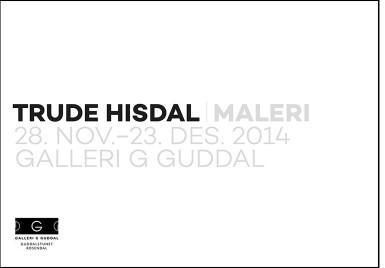 Katalog – separatutstilling Galleri G Guddal